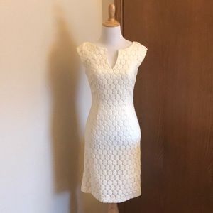 Chequers Off White Dress Size 0